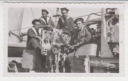 B 502 /  Groupe  MARINS  Du  TIGRE    ( Contre  Torpilleur ) 1936 / Photo EMERY à TOULON - Boats