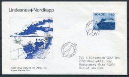 1974 Norway Lindesnes Nordkapp Cover - Norway