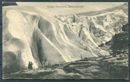 1928 Norway Svartisen Postcard = New London USA - Norway