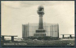 1928 Norway Meridianstotten Hammefest Postcard - New London USA. 20ore Ibsen - Norway