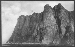 1928 Norway Spitsbergen Nordkap RP Postcard - Baltimore USA. - Norway
