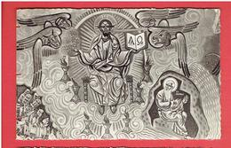 CHATEL GUYON EGLISE SAINTE ANNE APOCALYPSE VISION DE SAINT JEAN FRESQUE DE NICOLAS GRESCHNY  CARTE EN TRES BON ETAT - Châtel-Guyon