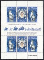 FALKLAND ISLANDS DEPENDENCIES Michel  71/73  MINI SHEET  Very Fine Used - Falkland