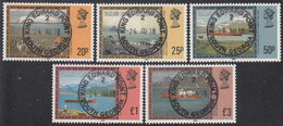 FALKLAND ISLANDS DEPENDENCIES Michel  88/92 III  Very Fine Used - Falkland