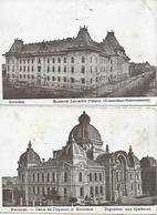 BUCAREST - BUCURESTI 2 CARTES POSTEES EN 1917 - Ostpreussen