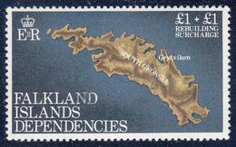 FALKLAND ISLANDS DEPENDENCIES Michel 116  Very Fine Used - Falkland
