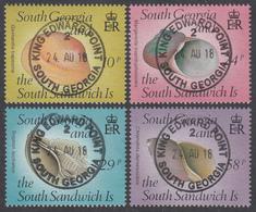 FALKLAND ISLANDS DEPENDENCIES Michel 168/71  Very Fine Used - Falkland