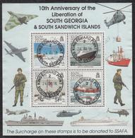 FALKLAND ISLANDS DEPENDENCIES Michel BLOCK 3  Very Fine Used - Falkland