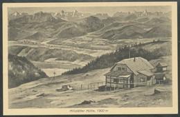 Ansichtskarte  -  Millstätter Hutte - Ansichtskarten
