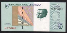 ANGOLA : 5 Kwanzas - 2012 - UNC - Angola