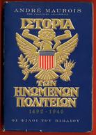 M3-4947 Greece 1947. Book – History Of United States.480 Pg. - Boeken, Tijdschriften, Stripverhalen
