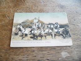 CPA Party Of Cape Police At An Out Fort During, Siège Mafeking, Daté 1907, Carte Animée - Afrique Du Sud