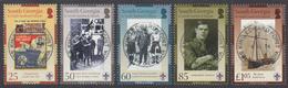 FALKLAND ISLANDS DEPENDENCIES Michel 441/45  Very Fine Used - Falkland