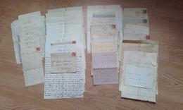 42 Lettres De 1936 à 1937 D'un Soldat à BITCHE à Sa Mère - 1939-45