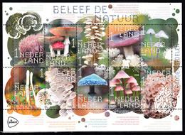 Nederland 2018 Nvph Nr ??. Mi Nr ?? :Beleef De Natuur, Zelfklevend, Paddenstoelen. Mushroom - Periode 2013-... (Willem-Alexander)