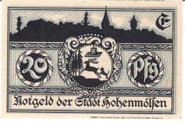 Deutschland Notgeld 20 Pfennig Mehl621.1 HOHENMOLSEN /46M/ - [11] Emissions Locales