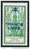 INDE ßurcharge »Croix De Lorraine Et FRANCE LIBRE»  Maury  203 II  ** - India (1892-1954)