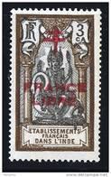 INDE ßurcharge »Croix De Lorraine Et FRANCE LIBRE»  Maury  202 II  ** - India (1892-1954)