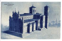 Saluti D'Avezzano (Aquila) - Cattedrale. 1932 - L'Aquila