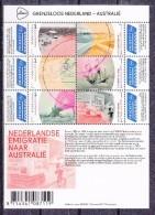 Nederland 2016 Nvph Nr 3441 - 3446 , Mi Nr Blok 166  Grenzeloos Nederland - Australie ; Thema Emigratie - 2013-... (Willem-Alexander)