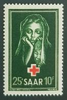Saar 1951, Red Cross, MNH - 1947-56 Occupation Alliée