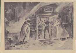 Soldatenblätter, Weihnachten An Der Front, Feldpost 1942, Propaganda-Postkarte Drittes Reich, Militär - Guerra 1939-45