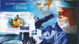 Guinée 2015 Nobel Red Cross Croix Rouge Ebola MNH - Premio Nobel