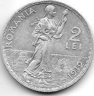 *Romania 2 Leu  1912 Km 43  Xf+!!!!! - Roumanie