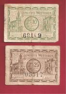 Noodgeld Wetteren - Belgique