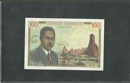 CAMEROON CAMEROUN 100 FRANCS ND (1962) PICK #10 VF++ RARE - Cameroun