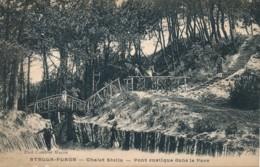 CPA 62 CUCQ STELLA PLAGE Pont Rustique Dans Le Parc - France