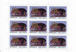 Angola 1999 Chess S/s Sheet Philex France 1999 O/p On Birds Sheet - Angola
