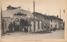 CPA 62 CUCQ STELLA PLAGE Garage Stella Edition Pasquier Bal Des Pompiers - France