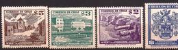 Chile - Fx. 3114 - Yv. 234/7 -Aniv. De La Fundacion De Valdivia - ** - Chile