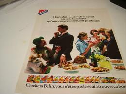 ANCIENNE AFFICHE PUBLICITE  BISCUIT APERITIF DE BELIN 1979 - Posters