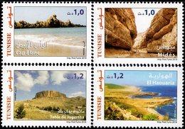 Tunisia - 2018 - Touristic And Archeological Sites In Tunisia - Mint Stamp Set - Tunesië (1956-...)