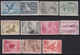 Cuba      .     Yvert  .   135/145       .      **       .    Postfris     .    /    .  Neuf SANS Charniere - Poste Aérienne