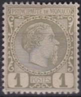 Monaco   .     Yvert    .      1        .      **       .    MNH      .    /    .  Neuf SANS Charniere - Neufs