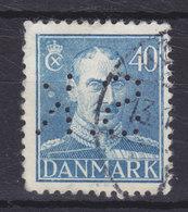 Denmark Perfin Perforé Lochung  (S35) 'S.K.' Fortsættelsessygekassen Danmark, København (2 Scans) - Abarten Und Kuriositäten