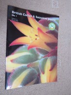 BRITISH CACTUS AND SUCCULENT JOURNAL Vol 21 Mar, Jun, Sep, Dec 2003 (All 4) - Nature