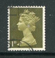 GRANDE BRETAGNE- Y&T N°472- Oblitéré - 1952-.... (Elizabeth II)
