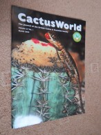 BRITISH CACTUS AND SUCCULENT JOURNAL Vol 27 Mar, Jun, Sep, Dec 2009 (All 4) - Nature