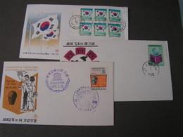 Korea Lot FDC - Korea (Süd-)