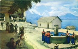 GUATEMALA  SAN ANTONIO PALOPÒ  Lago Atitlàn - Guatemala