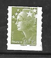 A281  Adhésif Marianne De Beaujard N°286 N++ - Frankreich