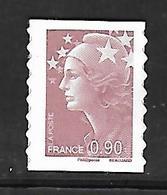 A282  Adhésif Marianne De Beaujard N°287 N++ - Frankreich