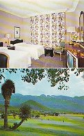 Mexico Monterrey Gran Hotel Ancira Typical Room & Golf Cours
