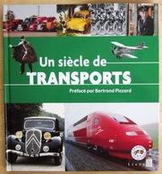 FRANCE               LE SIECLE AU FIL DU TIMBRE : LES TRANSPORTS - Timbres