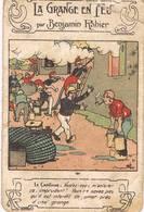 Benjamin RABIER - La Grange En Feu - Publicité Au Verso Pour Le Chocolat DEVINCK - Rabier, B.