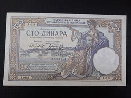 KINGDOM OF YUGOSLAVIA: 100 Dinara 1.12.1929 UNC - Yougoslavie